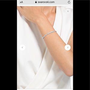 Authentic Swarovski diamond cut bracelet